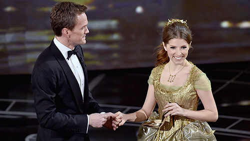 Neil Patrick Harris and Anna Kendrick in opening number