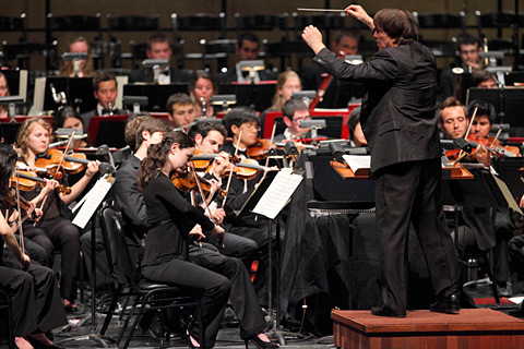 David Newman conducts the American Youth Symphony