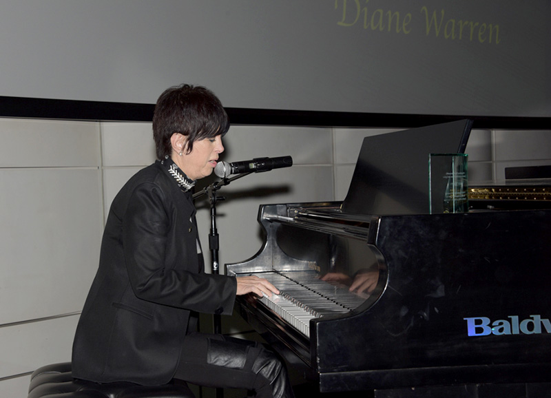 Diane Warren singing her Emmy-winning song