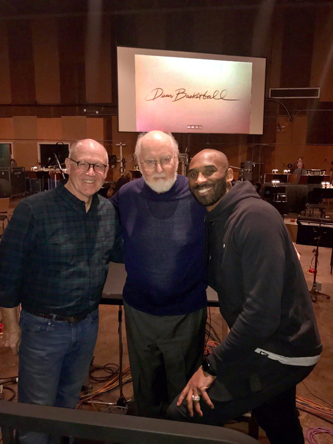 Glen Keane, John Williams and Kobe Bryant