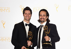 Tom Kitt and Lin-Manuel Miranda