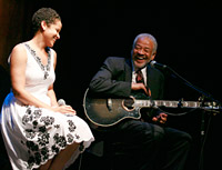 Kori Withers and Bill Withers (Photo by Alex Berliner © Berliner Studio/BEImages)