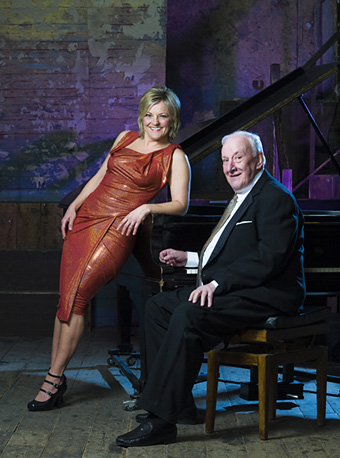 Sir Richard Rodney Bennett with Claire Martin