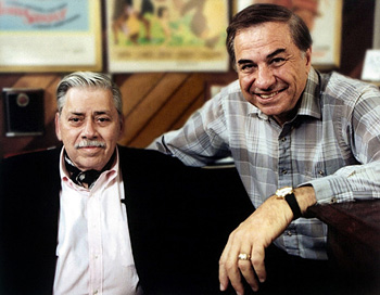 Robert B. Sherman and Richard M. Sherman (© Rex Features / W. Disney/Everett)