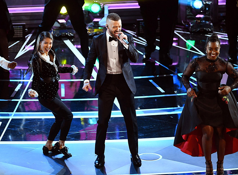 Justin Timberlake and company rock to