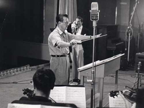 Van Alexander conducting for Gordon MacRae