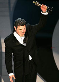 Gustavo Santaolalla wins for his score to