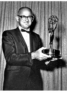 Earle Hagen with Emmy