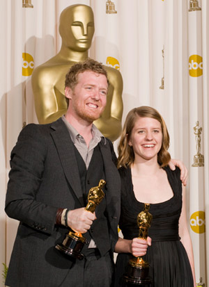 Glen Hansard and Marketa Irglova (photo by Matt Petit, © A.M.P.A.S.)