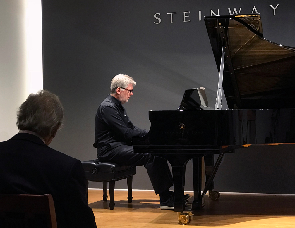 Jean-Michel Bernard performs Shifrin classics as the composer looks on