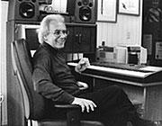 Lalo Schifrin in his home studio