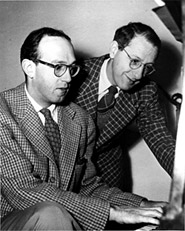 Jay Livingston and Ray Evans, <br />circa 1940s