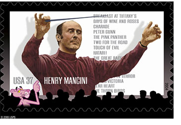 USPS Celebrates Mancini