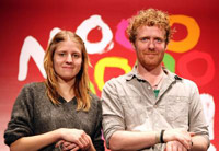 Marketa Irglova and Glen Hansard