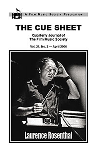 Rosenthal: The Cue Sheet