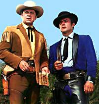 "Robert Conrad and Ross Martin in ""The Wild, Wild West"""